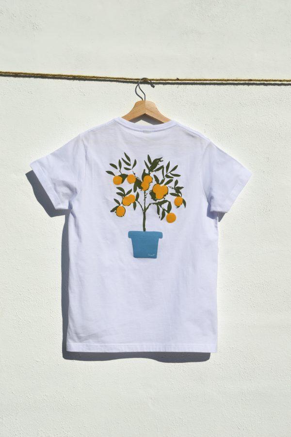 Camiseta taronger AMPELT
